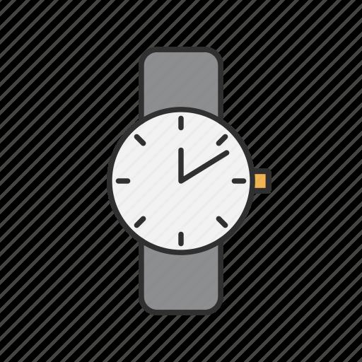 analog, time, watch, wrist watch icon