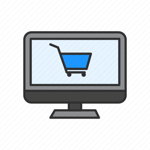 ecommerce, online shopping, shop, shopping cart icon