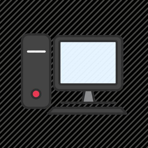 computer, desktop, ecommerce, online icon