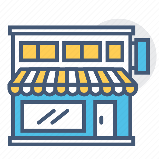 building, business, commerce, market, place, shoping place, store icon