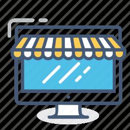 ecommerce, online, online shop, shop, shopping, store icon