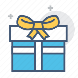 bow, box, christmas, gift, gift box, gift wrapped, present icon