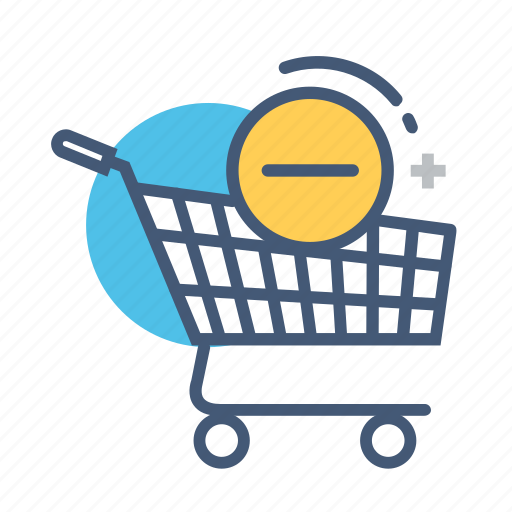 cart, online, products, remove, shop, shopping, shopping cart icon