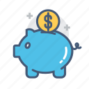 money, money savings, piggy bankpig, save, saving, saving money, savings icon