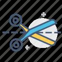 cut, line, line cut, paper cut, promotion, scissor, scissors icon