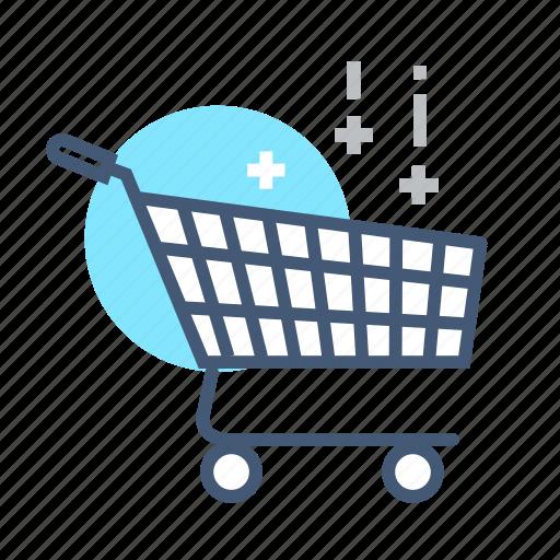 bought, cart, online, online cart, online shopping, shopping, shopping cart icon