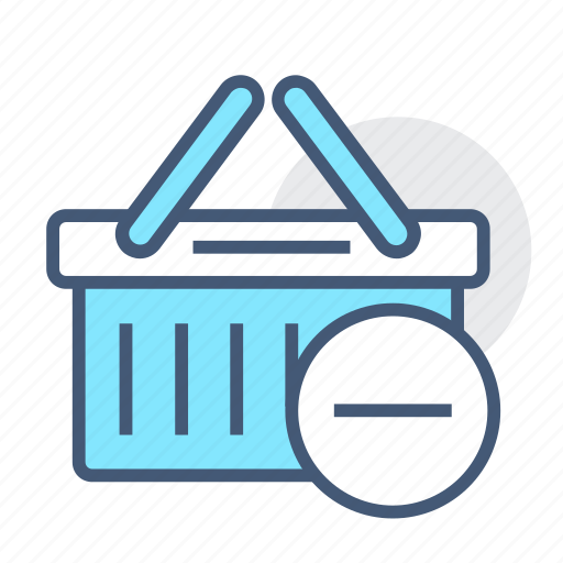basket, ecommerce, online, remove, remove basket, shopping, shopping basket icon