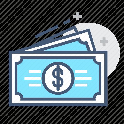 bills, cash savings, dollar, dollar bill, dollar bills, dollars, money icon