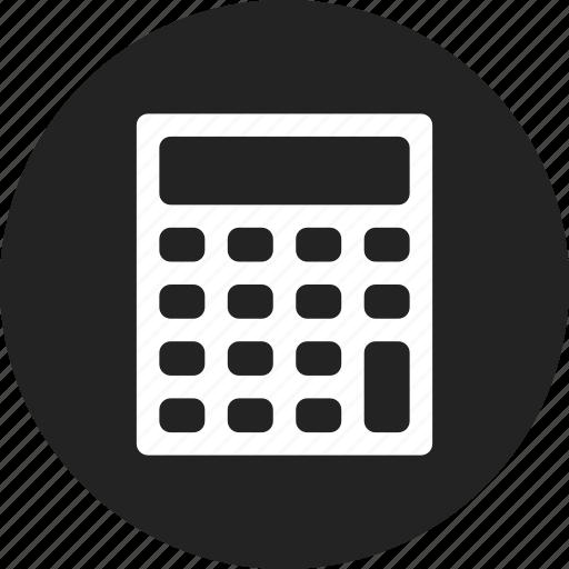 calculator, finance, mathematics icon