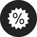 coupon, discount, sale, sticker icon