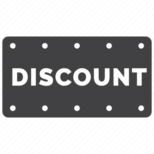 discount, label, offer, sign icon