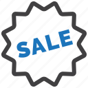 discount, label, price, sale, shopping, sticker icon