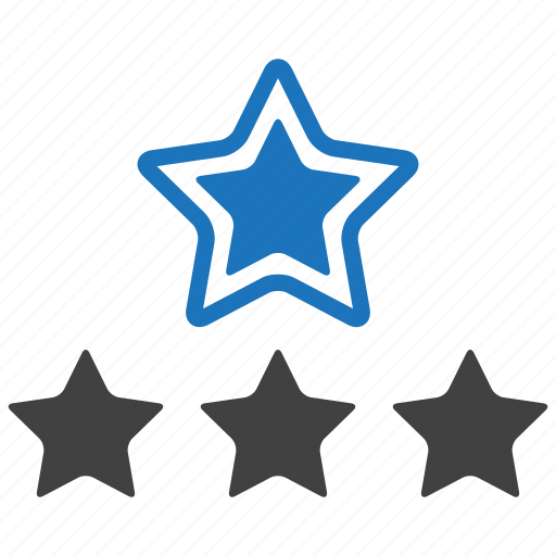 favorite, rate, rating, star, stars icon