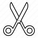coupon, cut, scissor, stationary icon
