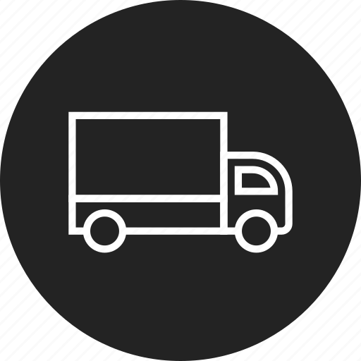 courier, delivery, truck icon