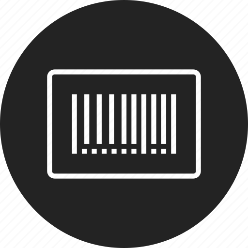 barcode, identification, tag icon