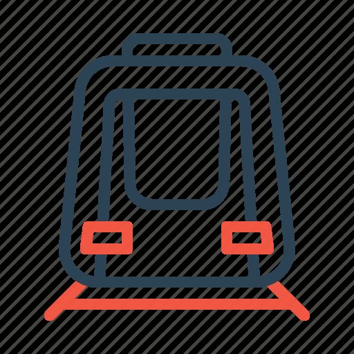 engine, metro, railway, train, transport, travel icon