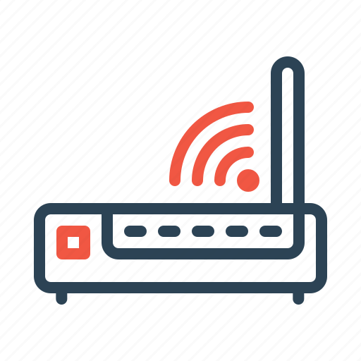 broadband, internet, network, router, signal, wifi, wireless icon