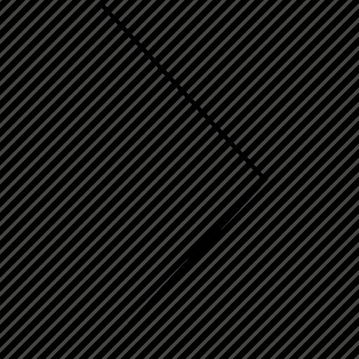 arrow, forward, move, next, right icon