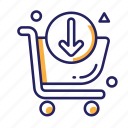 buy, sale, shopping, shopping basket, shopping cart icon