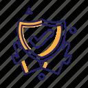 certificate, safe, saftey, trust icon
