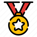 medal, award, champion