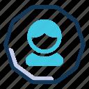 user, avatar, profile, person