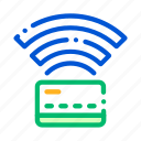 banking, card, money, pass, pay icon icon