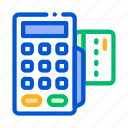payment, smartphone, terminal icon icon