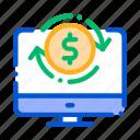 account, money, verification icon icon