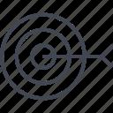 arrow, bullseye, find, goal, target icon