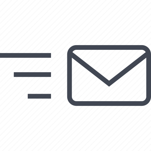 delivery, email, fast, online, seo, web icon