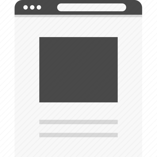 full, photo, top, website, width, wireframes icon