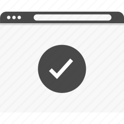 approved, good, results, website, wireframes icon