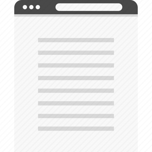 full, paragraph, website, width, wireframes icon