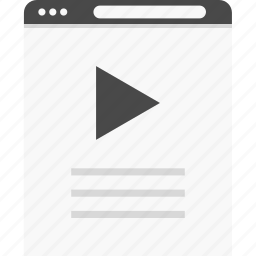 description, list, play, website, wireframes, youtube icon