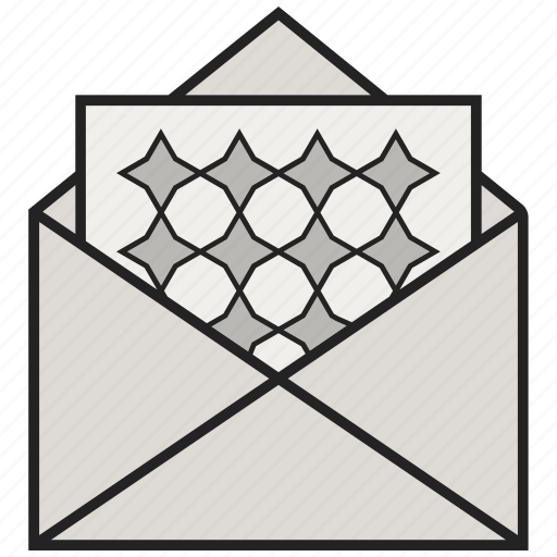 envelope, letter, mail, news, open letters icon