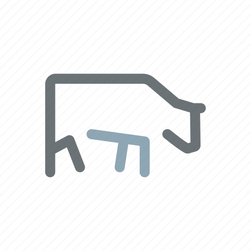 angus, beef, bull, cattle, cow, farm, meat icon