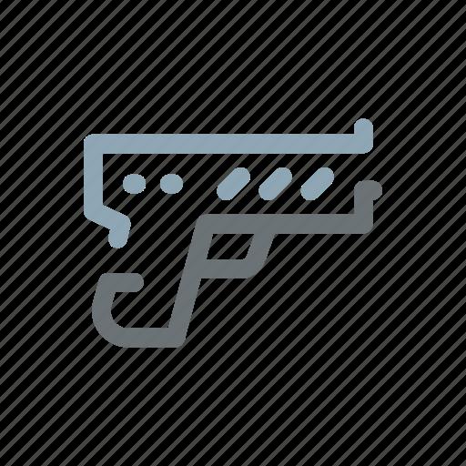 arm, crime, criminal, fire, gun, violence, weapon icon