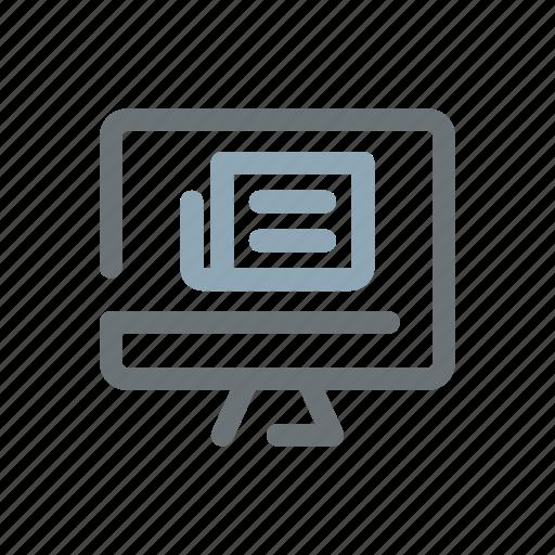 agency, media, news, online, press, trends, website icon