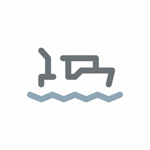 boat, boating, drifter, fisherman, fishing, sea, trawler icon