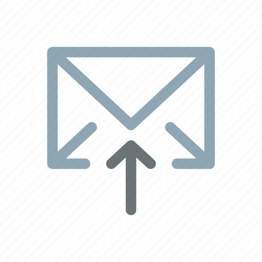 email, emailing, mail, outbox, outgoing, sending, sent icon