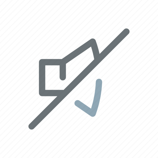 mute, off, silence, silent, sound, speaker icon