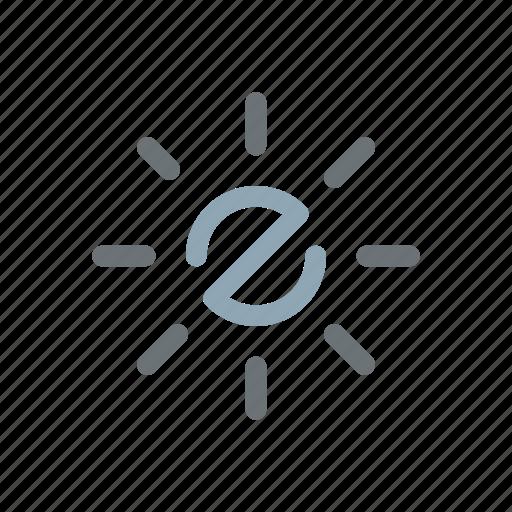 bright, brightness, energy, power, solar, summer, sunny icon