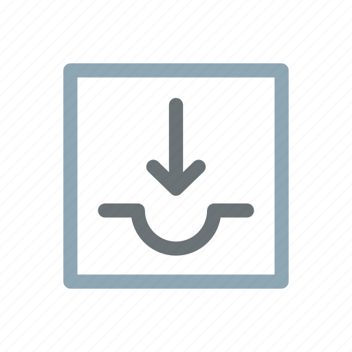 backup, inbox, incoming, receiving, storage, store, transfer icon