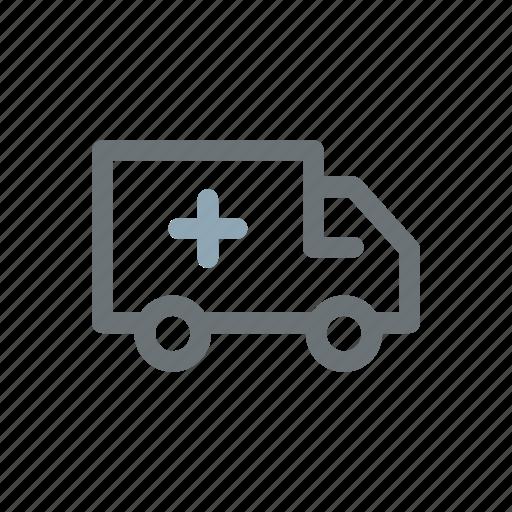 accident, ambulance, assistance, emergency, patient, transportation, victim icon