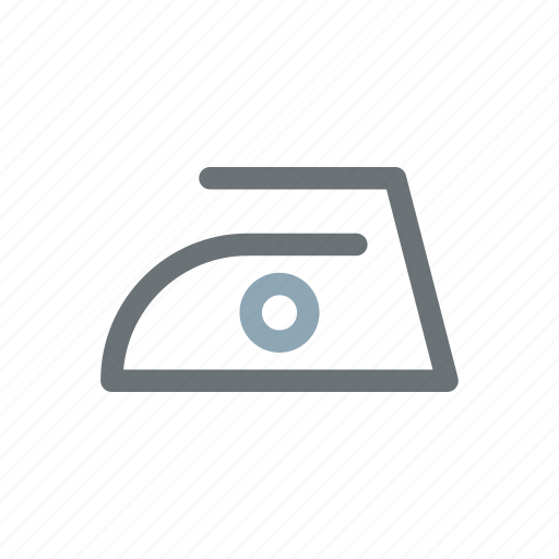 clothes, fabric, iron, ironing, label, specifications icon