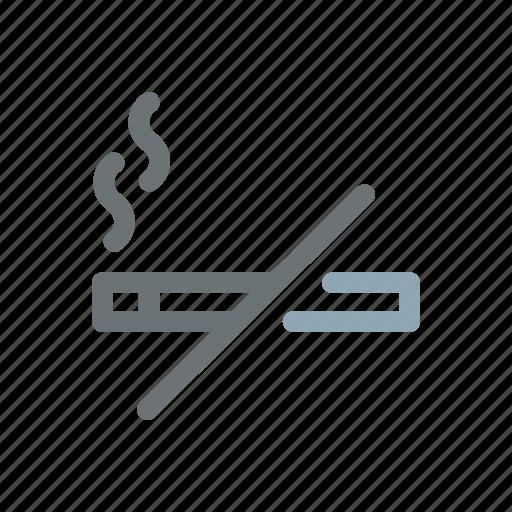 free, no smoking, non smokers, prohibited, quit, smoking icon