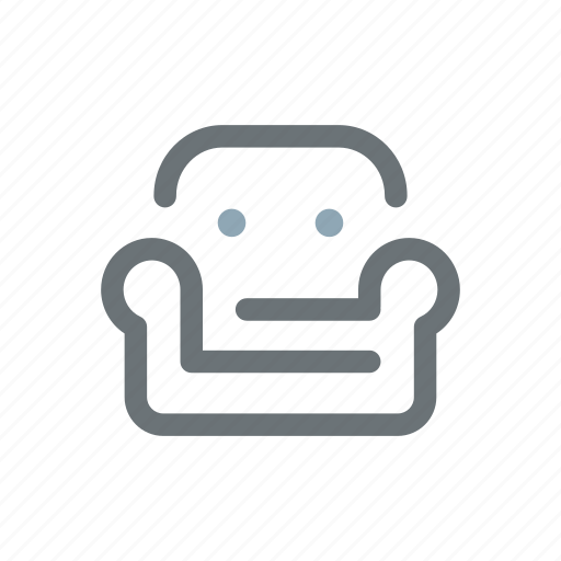 armchair, comfort, comfortable, couch, cozy, lazyness, sofa icon