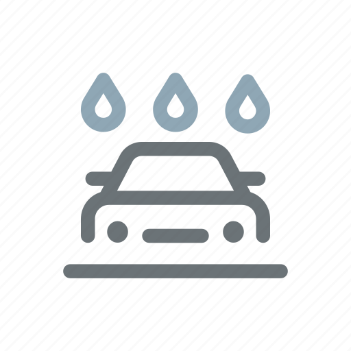 auto, car, cleaning, wash, washer, washing, water icon